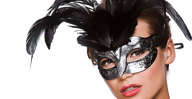 Feathered  sc 1 th 162 & Masquerade masks UK   Venetian masks   Animal masks   - Super Party ...
